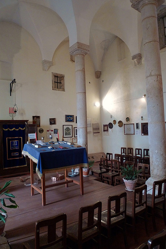 synagogue tomar - interior