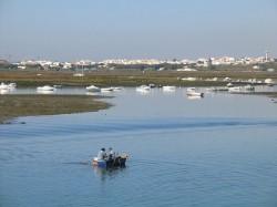 Ria Formosa in Faro by Osvaldo Gago@Wikimedia.org