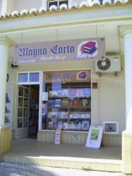 Magna Carta Bookshop Alvor