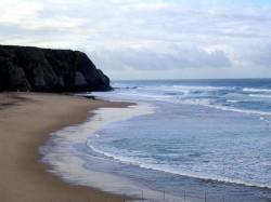 Sintra - Praia Grande beach