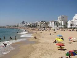 Vilamoura - Praia da Quarteira by Photogal @Flickr