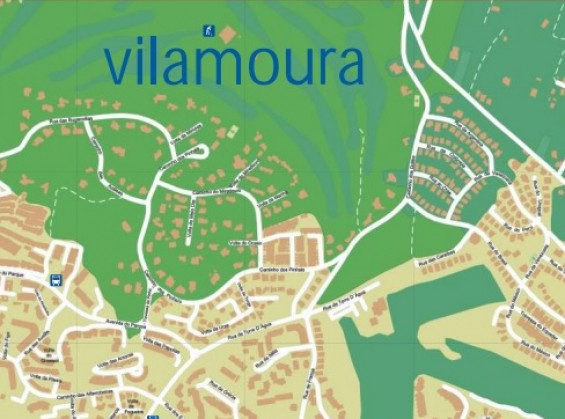 Map Vilamoura Portugal