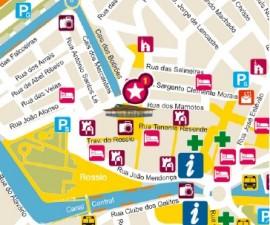 Map Aveiro Portugal