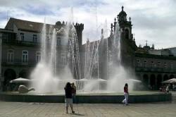 Braga - Praça da Republica by Carlos Luis M C da Cruz @Wikimedia.org