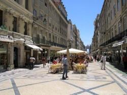 Lisbon - Pombaline Downtown - Rua Augusta by Osvaldo Gago @Wikimedia.org