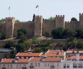 Lisbon - St George Castle by fulviusbsas @Wikimedia.org
