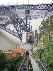 Porto - Funicular dos Guindais by Manuel de Sousa @Wikimedia.org